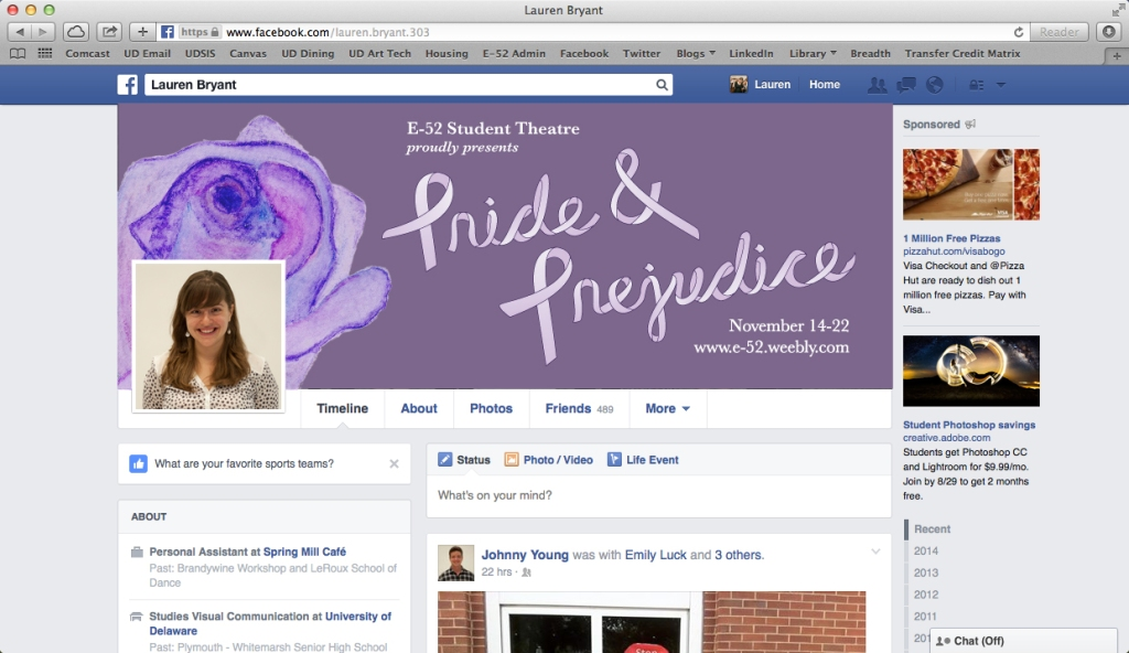 Pride & Prejudice - Cover Photo