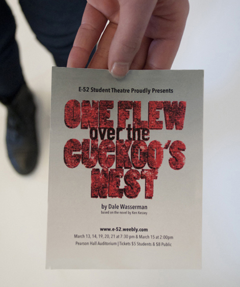 Flyer for One Flew over the Cuckoo's Nest