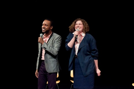 Judith Ingber and Donnell E. Smith in Absolutely Unbelievable! Photograph © Lauren Bryant