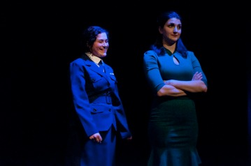 Judith Ingber and Sage Buchalter in Victory Girls. Photograph © Lauren Bryant