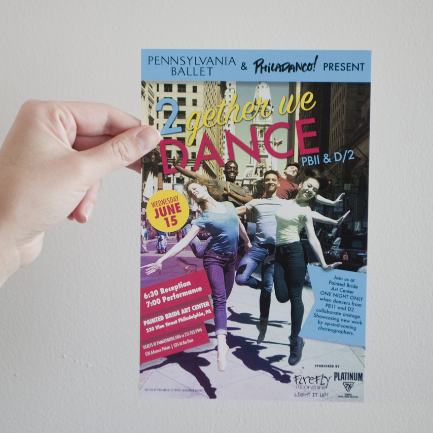 2Gether We Dance - Flyer