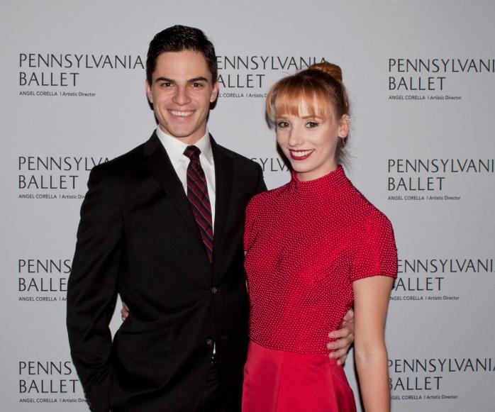 Aaron Anker and Alexandra Hughes. Photograph © Lauren Bryant