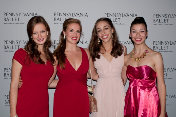 Kate Duffy, Cassidy McAndrew, Julia-Rose Sherrill, and Halle Sherman. Photograph © Lauren Bryant