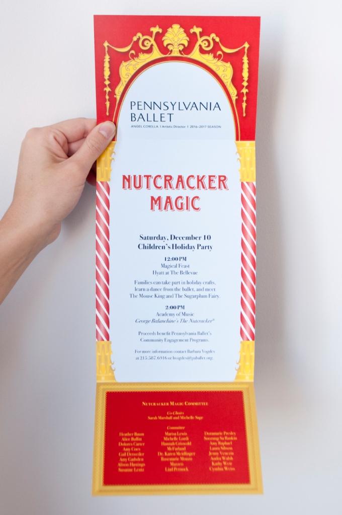 Nutcracker Magic - Invitation (interior)