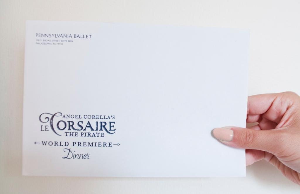 Le Corsaire - Envelope
