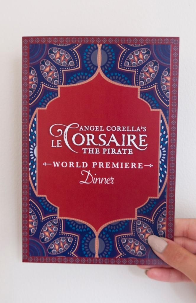 Le Corsaire - Invitation (front)