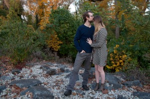 Hannah and Christopher in the fall