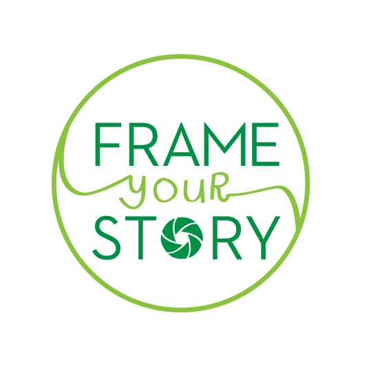 Frame Your Story logo design