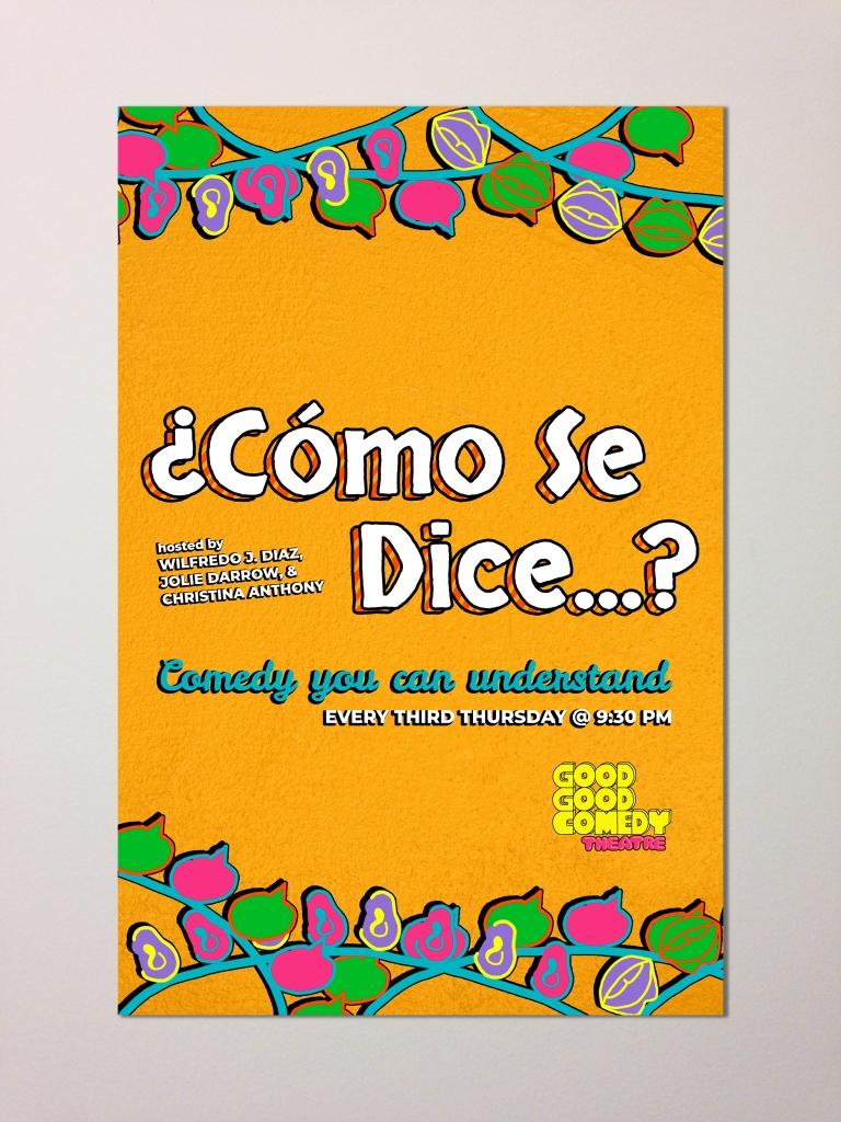 ¿Cómo se dice...? - Poster