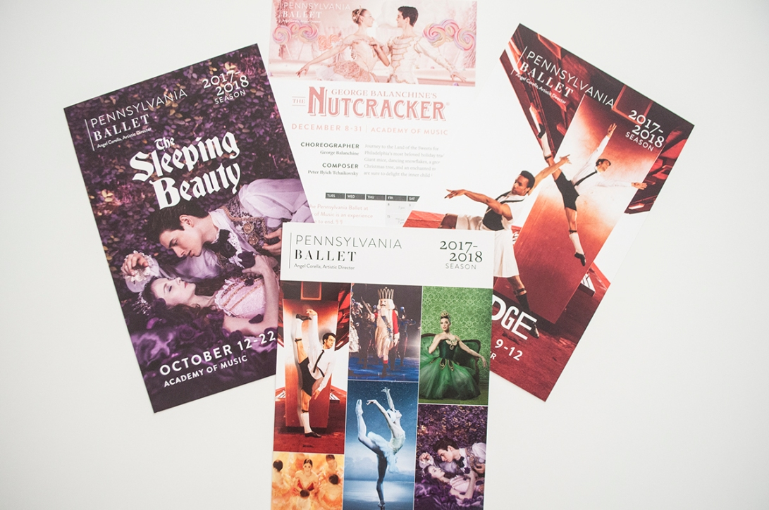 Pennsylvania Ballet - 17/18 Season - Flyers