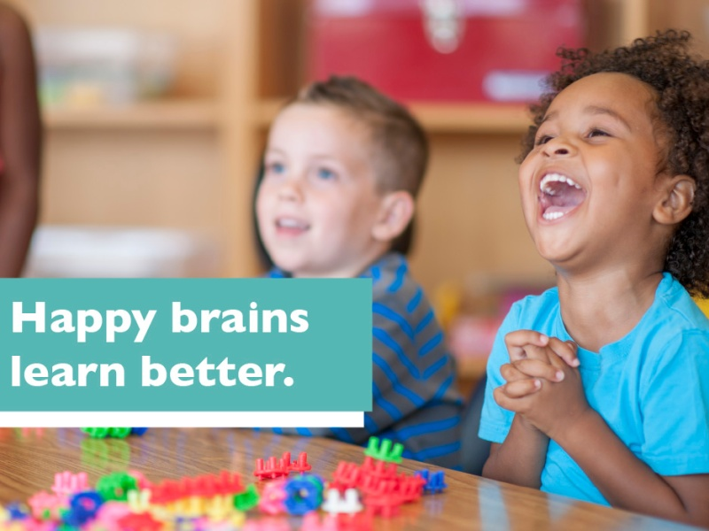 "Rethink Ed ""Happy brains learn better"""