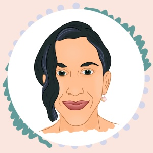 Illustrated Portrait of Stephanie Newman