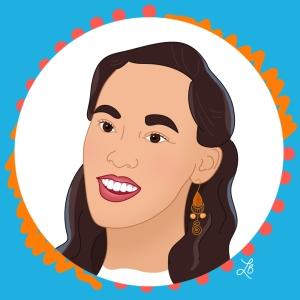 Illustrated Portrait of Lauren Yee