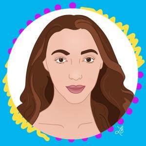 Illustrated Portrait of Arielle Beth Klein