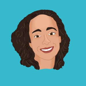 Illustrated Portrait of Beth