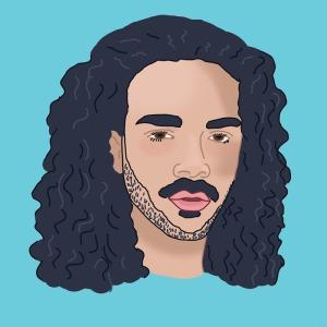 Illustrated Portrait of Ed