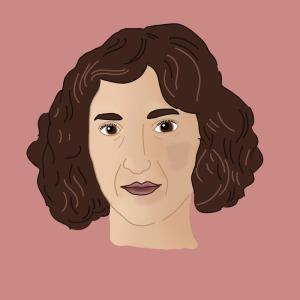 Illustrated Portrait of Gabi