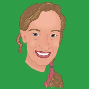 Illustrated Portrait of Sarah