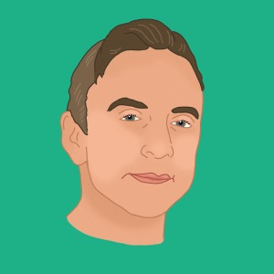 Illustrated Portrait of Sylvain