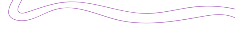 two curvy purple lines