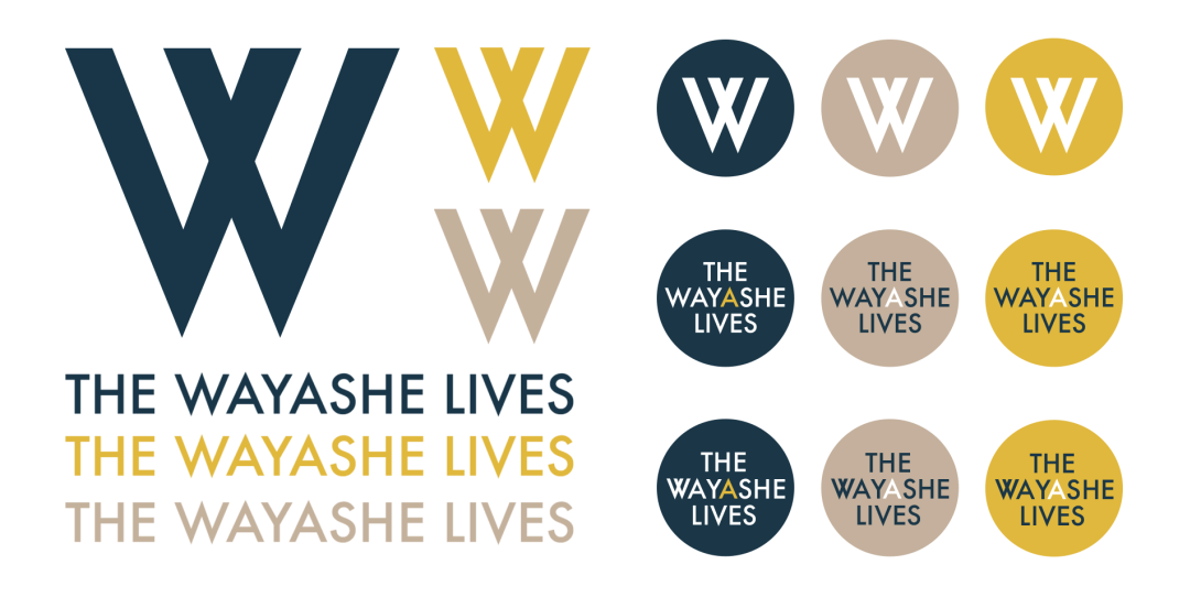 The Wayashe Lives logos
